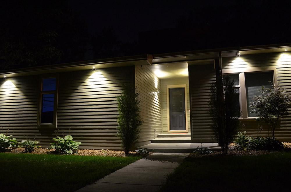 Exterior Lightscaping Sst Lighting, Outdoor Under Soffit Led Lighting