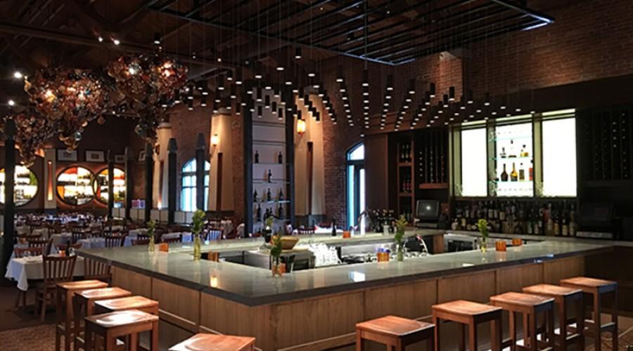 Helios Lighting Design uses Sunlite's Pendants at Lidia's Restaurant in Kansas City, MO