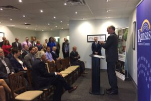 SST Hosts Press Conference with Kansas Dept of Commerce