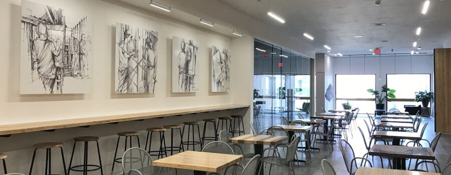 Dirt Works Studio Completes Chalmers Hall Renovation