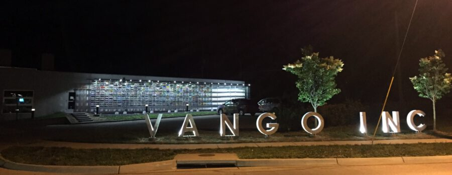 New Letter Sign for Van Go Inc.